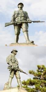 Hârşova. Monumentul soldatului necunoscut